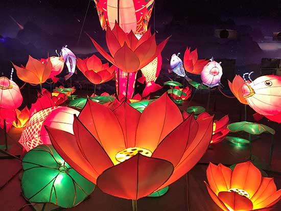 Lanterns on Mid-Autumn festival
